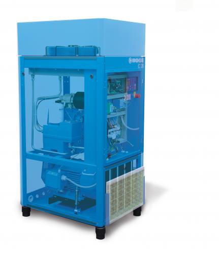 Boge C Series Rotary Screw Compressors -  Efficient, reliable 15-30 hp compressors.