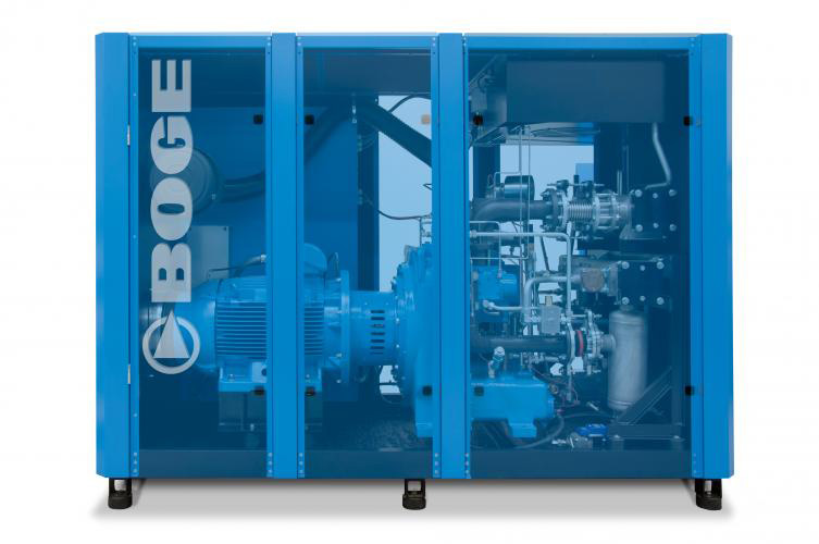 Boge SO Series Oil Free Compressors -  Designed to meet the most stringent air quality requirements.