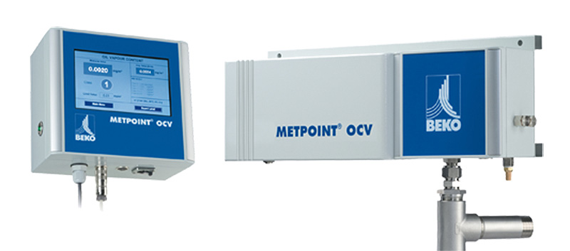 Beko - Proprietary hydrocarbon measurement technology specifically for compressed air.