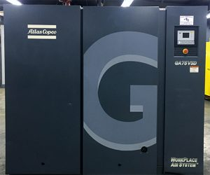 Used Atlas Copco Model GA 75 VSD 100 Hp for Sale