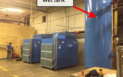Compressor Room Layout: Air Receiver Sizing and Placement, Continued