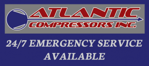Atlantic Compressors, Inc. 24/7 Emergency Service Available