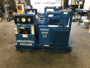 Used Quincy QSV 25 Vacuum Pump 230/460 VAC for Sale - Two Available