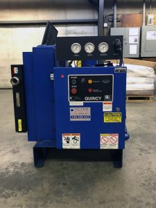 Used Quincy QSB 30 Compressor 30Hp 230/460VAC for Sale