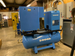 Boge used air compressor